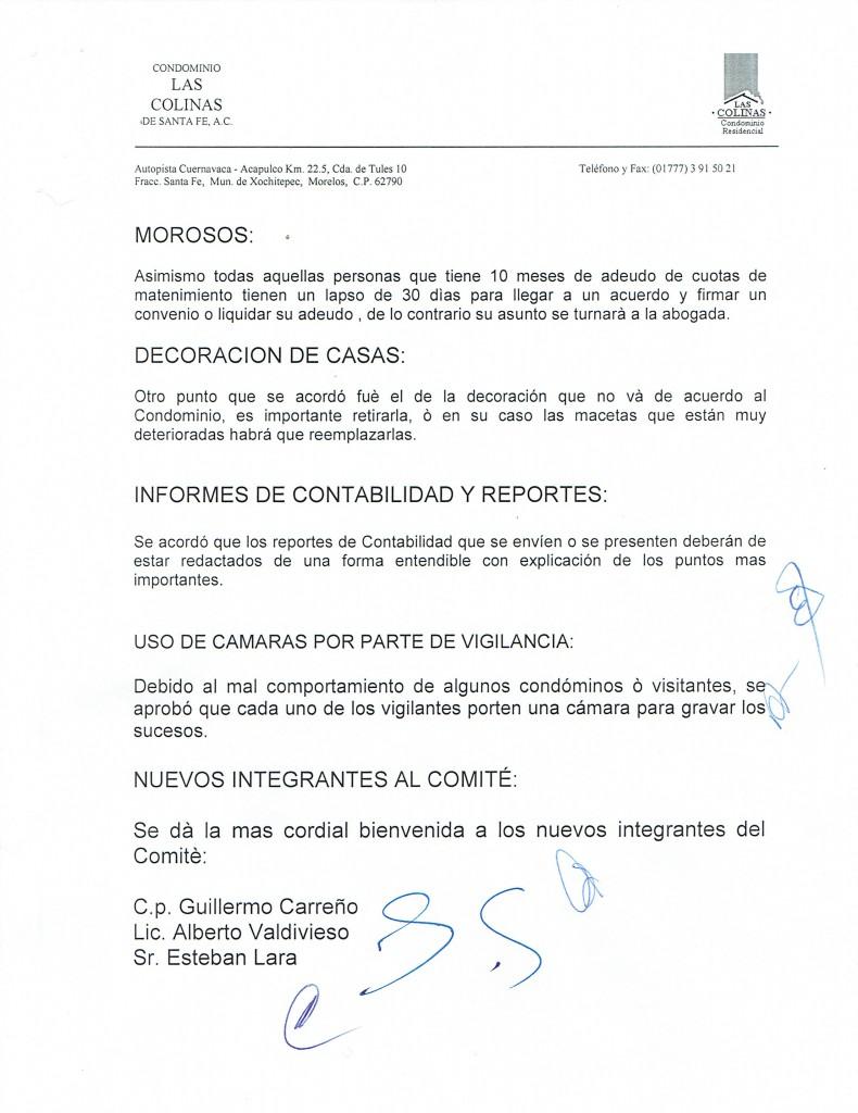 LA ADMINISTRACION INFORMA HOJA 320022016